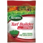 Scotts Turf Builder Fall Lawn Food 5M now $20.99