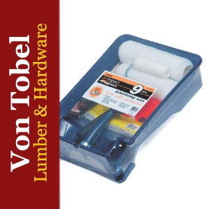 Save $5 on 9pc Pro Impact Paint Roller Tray Set