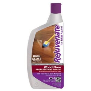 For Life Products, Rejuvenate 32Oz Wood Floor Professional Restorer With High Closs Finish