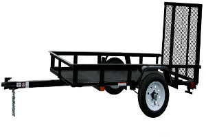 $100 Off All In Stock Carry-On Utility Trailers