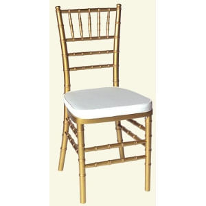 EES, 160-0605 Metallic Gold Chiavari Ballroom Chair