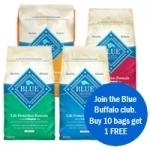 Your Choice of Blue Buffalo 30 lb. now $49.99