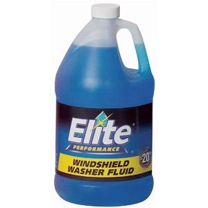 Elite Windshield Washer Fluid 1Gal $1.99