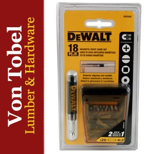 $6.99 DeWalt 18Pc Compact Magnetic Drive Guide Set