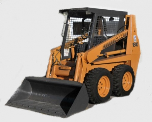 Loader, Skid Steer with Tires