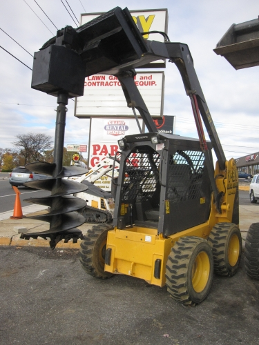 Attachment, Skid Steer, Auger, 18