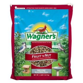 Wagner S Fruit N Nut Deluxe Wild Bird Food 4 Lb Pine