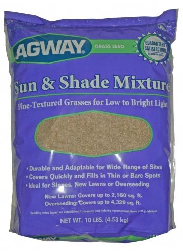 Agway Sun & Shade Mixture 3lbs $9.99