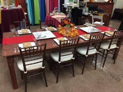 Farm Tables & Benches