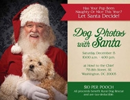 Dog Photos with Santa