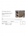 Bee Package Order Form
