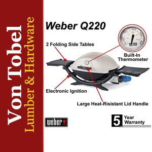 Take an Extra $10 Off Weber Q220 Gas Grill