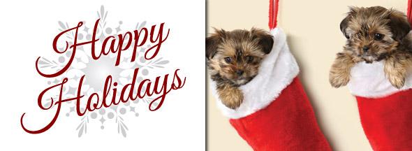 Happy Holidays Slider