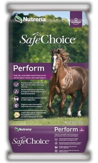 Nutrena® SafeChoice® Perform Horse Feed