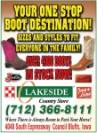 Lakeside Country Store Boots