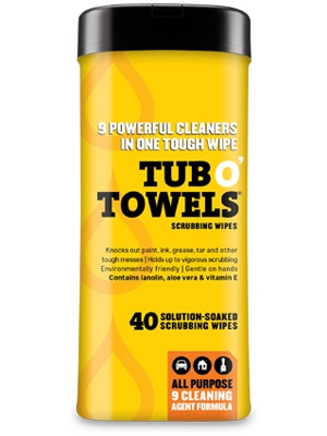 Tub O Towels Cleaning Wipes Now $12.00