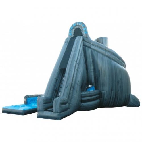 Inflatable Water Slide Tall: 27' Tall Hurricane Water Slide