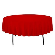 Disposable Table Cover, Round