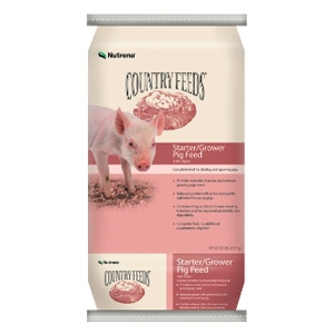 Nutrena® Country Feeds® Starter-Grower Pig Feed