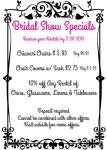 Vestal & Ithaca Bridal Show Specials