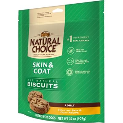 Natrual Choice Skin & Coat Biscuits, 32oz.