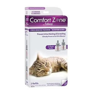 Comfort Zone W/ Feliway Double Refill 2 Pack