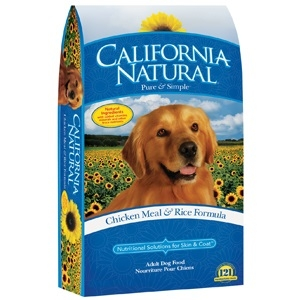 California Natural Chicken Meal & Rice Adult Dry Dog Food