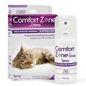 Comfort Zone with Feliway Spray