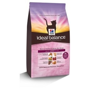 Hill's Ideal Balance Natural Chicken & Brown Rice Cat Food
