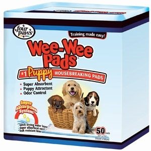 Four Paws Wee Wee Pads for Puppies (50 ct.)