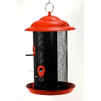 Feathered Friend Metal Mesh Combo Feeder $21.99