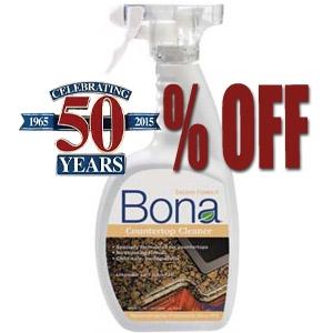50% Off Bona Countertop Cleaner Spray