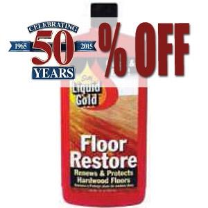 50% Off Liquid Gold Floor Restore