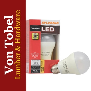 $2 Off Medium Base A19 LED Bulb