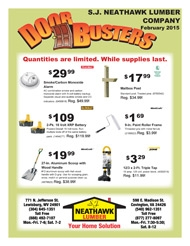 Door Buster Savings