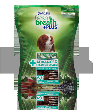 Fresh Breath Plus Treats- Advanced Cleaning System (Small)