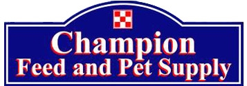 Champion Feed & Pet Supply  Logo