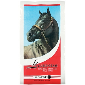 Southern States Legends Fortified Pelleted Rice Bran Horse Supplement 40lb