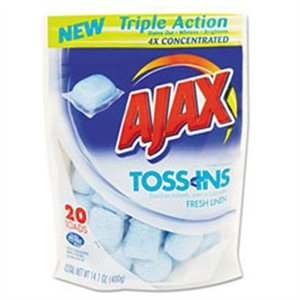 Ajax Laundry Detergent Packets, 20-Ct. Now $2.49