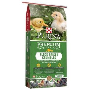 Flock Raiser® Premium Poultry Feed - Crumbles