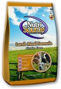 NutriSource® Lamb Meal Formula Grain Free Dog Food