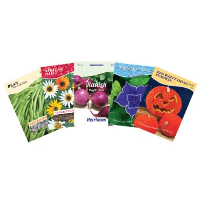 20% off when you buy 5 or more Livingston Seeds