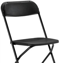 Chair, Black Folding