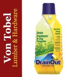 $1.50 Off DrainOut Drain Freshener/Clog Preventer