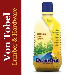 $1.50 Off DrainOut Kitchen Drain Opener