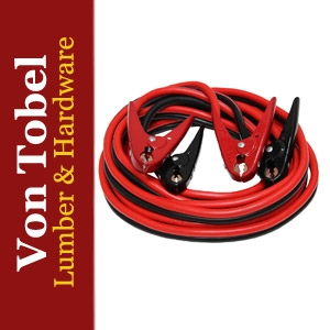 $10 Off Grip 20' Heavy Duty Jumper Cables 2-Gauge