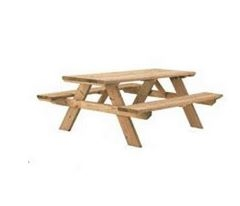 Unassembled Picnic Table For $ 99.00