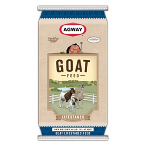 Agway® Stages Meat Goat 16% Pellet Medicated
