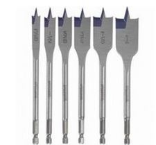 6 pc. Spade Bit Set Now $8.00