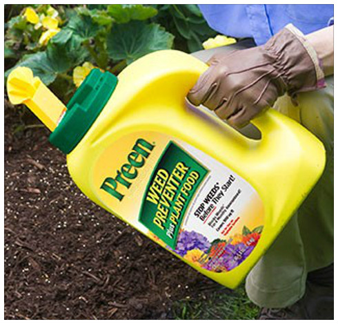 Lean mean weed killing preen sawyer garden center for How to use preen in vegetable garden